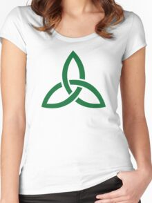 Celtic knot Women's Fitted Scoop T-Shirt