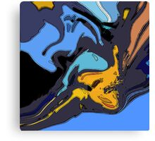 Icarus In Free Fall Canvas Print