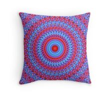 blue & red pattern rings mandala auf Redbubble von pASob-dESIGN