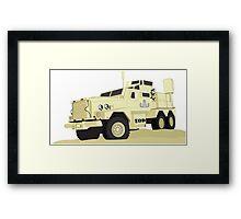 Joint EOD Response Vehicle (JERV) Framed Print