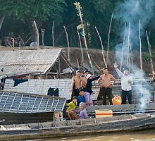 Mekong River Viet-Cam border by Chris Muscat