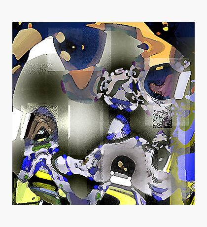 Space Cadets Photographic Print