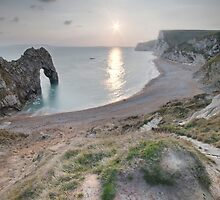 Durdle door Dusk by James Hann