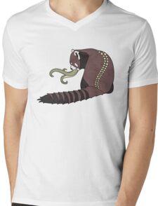 Shokushu Ni Mens V-Neck T-Shirt