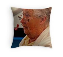 Womans Instittute Steward Throw Pillow