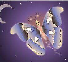 Papillon de nuit by Carole Felmy