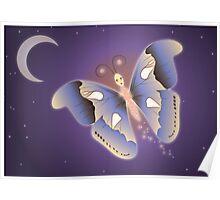 Papillon de nuit Poster