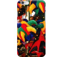Colourful Jester Hats  iPhone Case/Skin