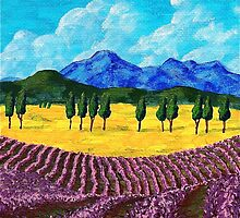 Lavender In Provence by MikeKraus