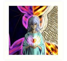 Ryou Bakura Change of Heart Art Print