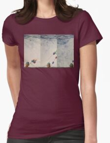 Windy Day Trilogy Womens Fitted T-Shirt