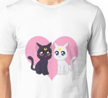 Moon Cats Unisex T-Shirt