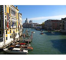 Grand Canal - Venice, Italy Photographic Print