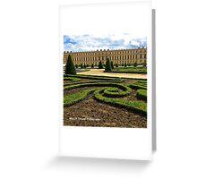 France - Versailles Gardens Greeting Card