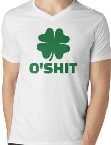 Shamrock O'Shit Mens V-Neck T-Shirt
