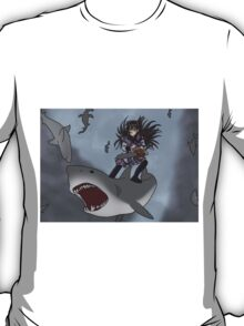 Homura Vs Sharknado T-Shirt