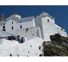 Greek Churches Photographic Print