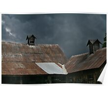Storm Steeples Poster