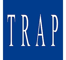 TRAP - Blue Photographic Print