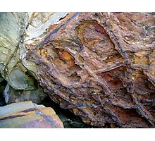 Eroded By The Elements Photographic Print