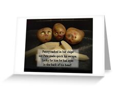 Chips.. Greeting Card