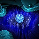 Deep Blue Petals by Heather Payson