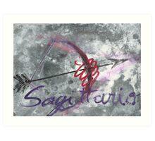 sagittario Art Print