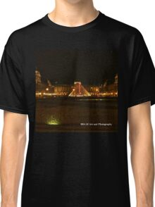 France - Louvre Night Classic T-Shirt