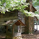 Americana Log Cabin Culture Callaway Gardens Georgia by Sheila McCrea
