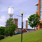 Historic Old Town Columbus Water Tower by Sheila McCrea