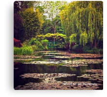 France - Monet's Garden Canvas Print