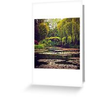 France - Monet's Garden Greeting Card
