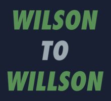 Wilson to Willson by skillsthrills