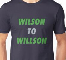 Wilson to Willson Unisex T-Shirt