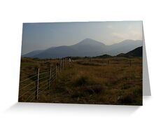 Mystical Mournes Greeting Card