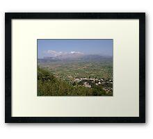 Lassithi Plains Framed Print