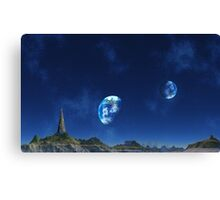 Tower of Knowledge Canvas Print