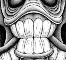 Mega-skull Sticker