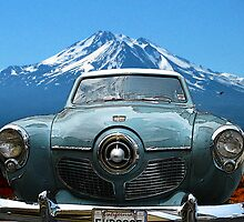 Mt. Shasta with Studebaker by Larry Butterworth