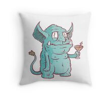 Drunk Goblin Throw Pillow