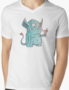 Drunk Goblin Mens V-Neck T-Shirt