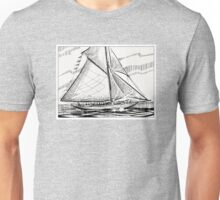 Sail away. Unisex T-Shirt