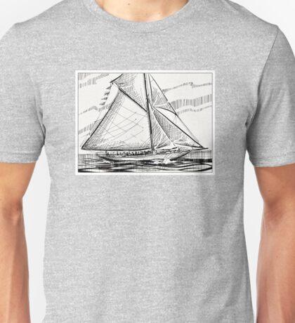 Sail away. Unisex T-Shirt