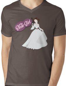 The New Girl Mens V-Neck T-Shirt