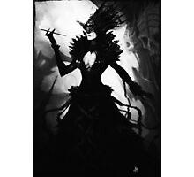 Dark Dress Photographic Print