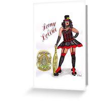 Loony Lolita Greeting Card