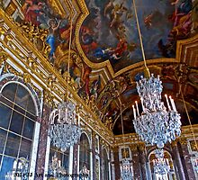 France - Versailles Chandeliers by jezebel521
