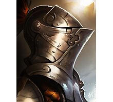 Knight & Shining Armor Photographic Print