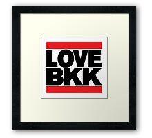 LOVE BKK Framed Print