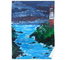 Lighthouse ACEO/ATC Poster
